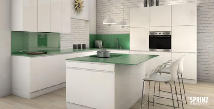 Gut gemocht Glas in Küchen - Glas Lange ZA82